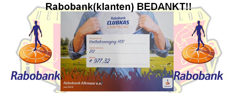 #Rabobank (klanten) BEDANKT!