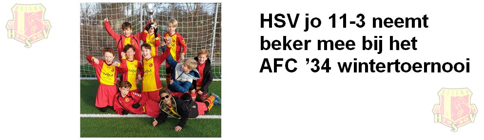 HSV jo 11-3 wordt knap 3e