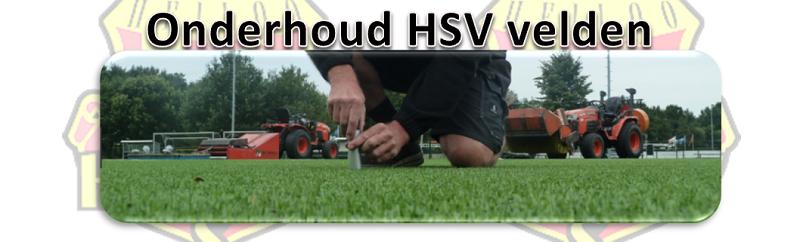 groot onderhoud HSV velden