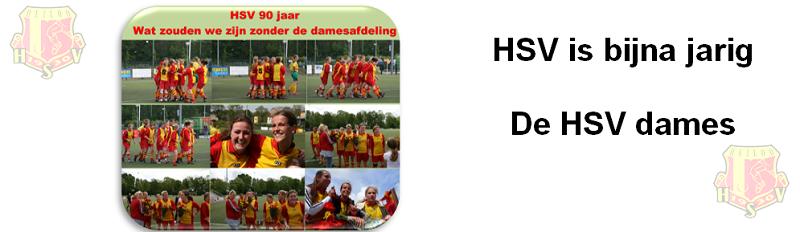 Bijna 90 jaar * terugblik op kampioenswedstrijd HSV Dames * 2011
